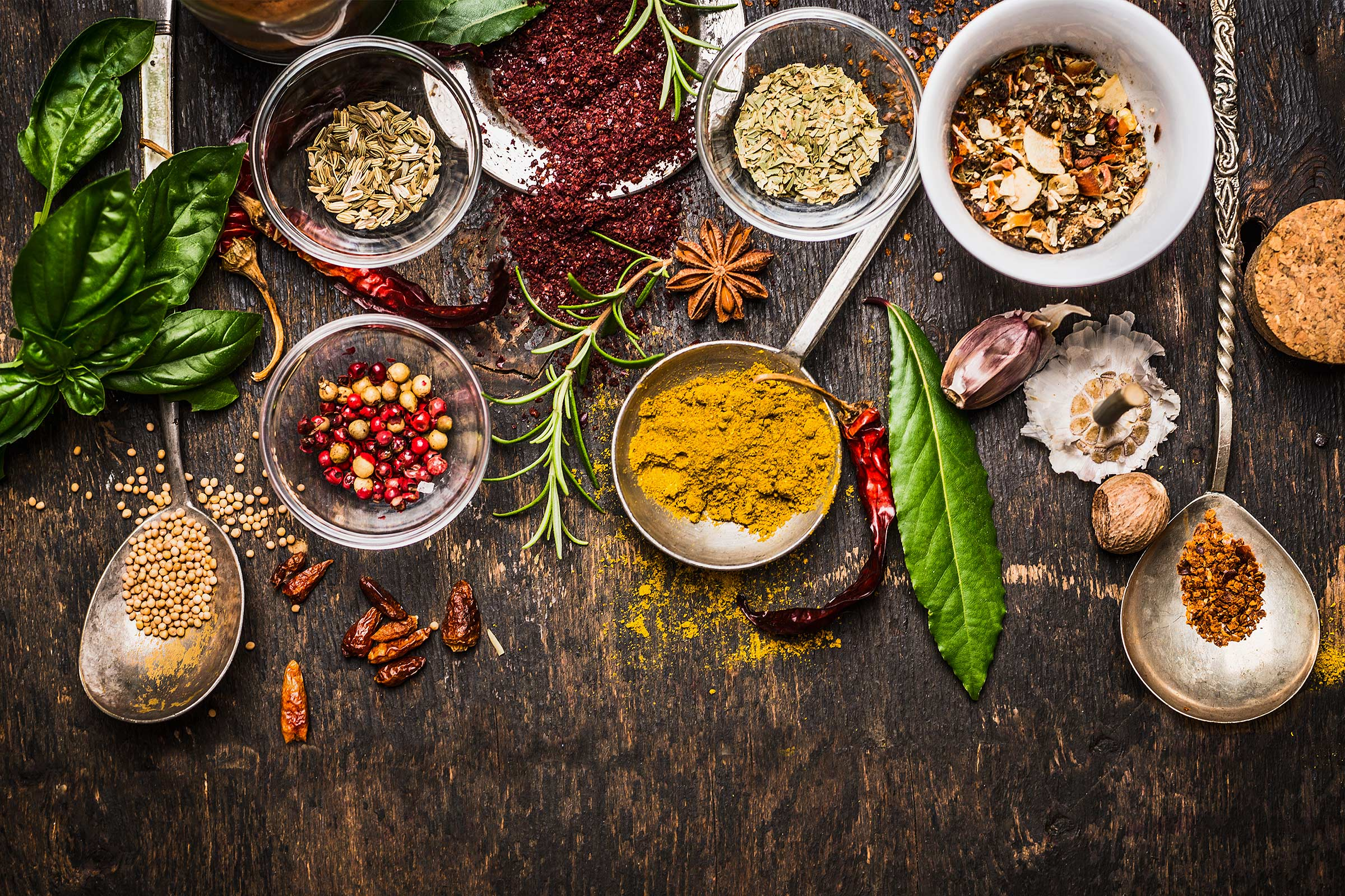 herbs spices improve health