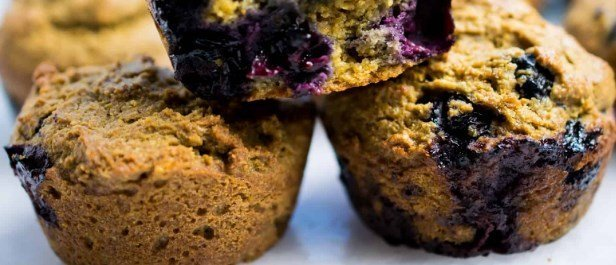 blueberry muffins with frozen blueberries