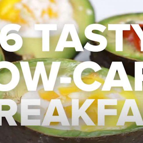 low carbs breakfast